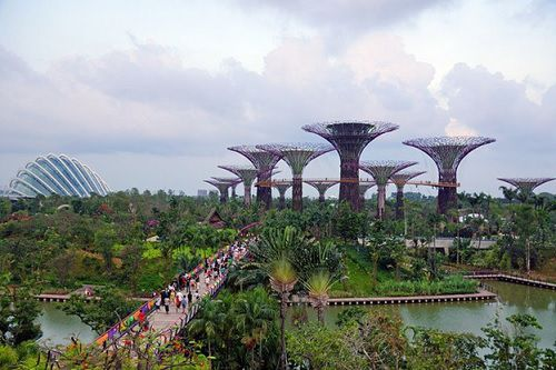 "Kỳ quan ""Gardens by the Bay"""
